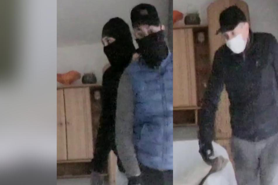 Am hellichten Tag zugeschlagen: Polizei sucht nach diesen Einbrechern