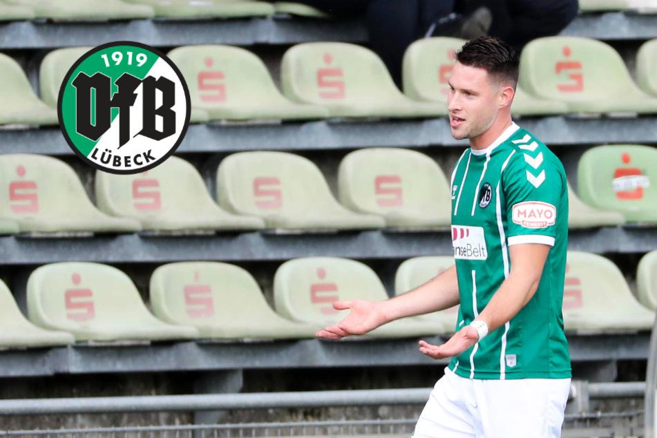 Lübeck mit Fehlstart: VfB kann Aufstiegs-Schwung nicht mitnehmen und zahlt viel Lehrgeld!