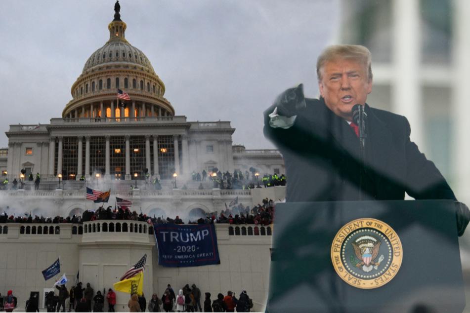 Erst Randale provoziert, jetzt das: Trump mit ungewohntem Appell