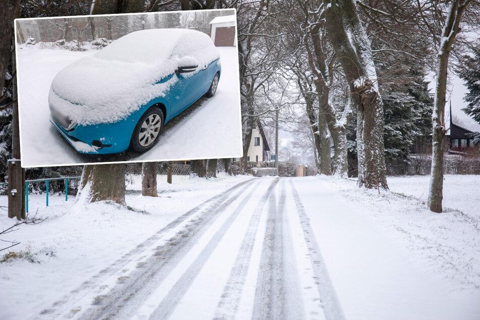 Sechs Zentimeter Neuschnee im Erzgebirge! Kommt der Winter wieder zurück?