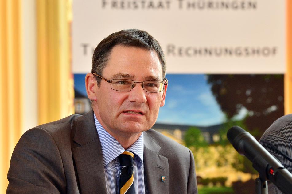 Thüringens Rechnungshofpräsident Sebastian Dette.