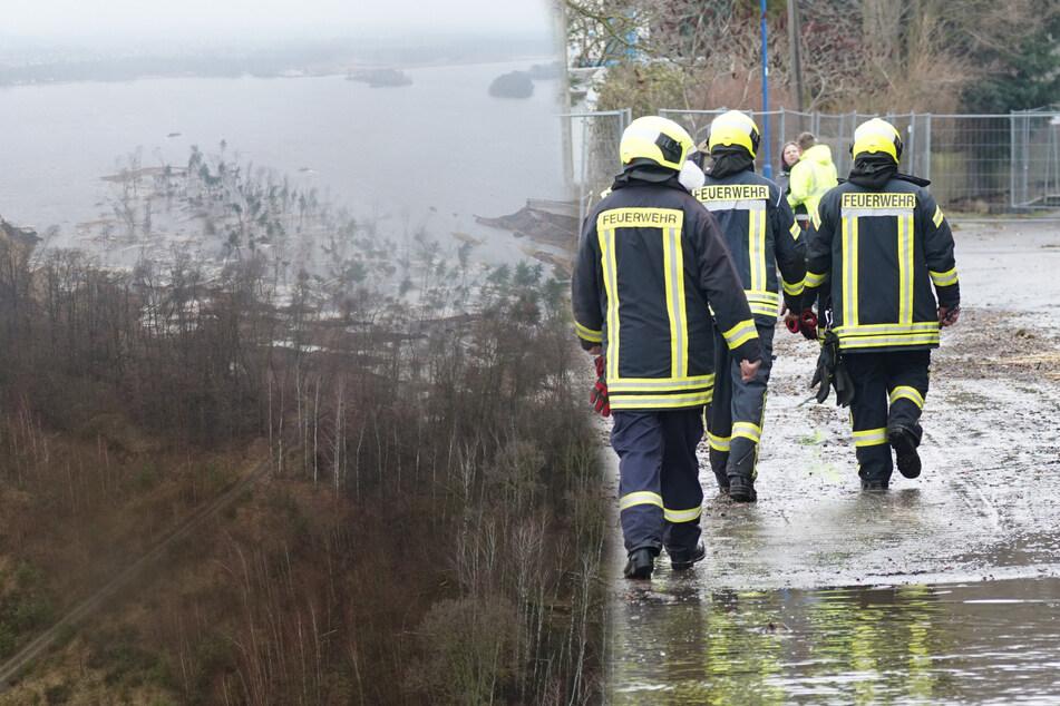 Wie ein Tsunami: Uferrutsch am Knappensee sorgt für Verwüstung!