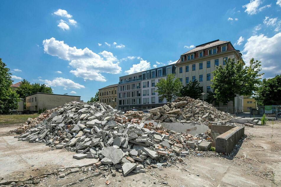 Auch an der Löbtauer Straße wird bald auf drei verschiedenen Grundstücken gebaut.