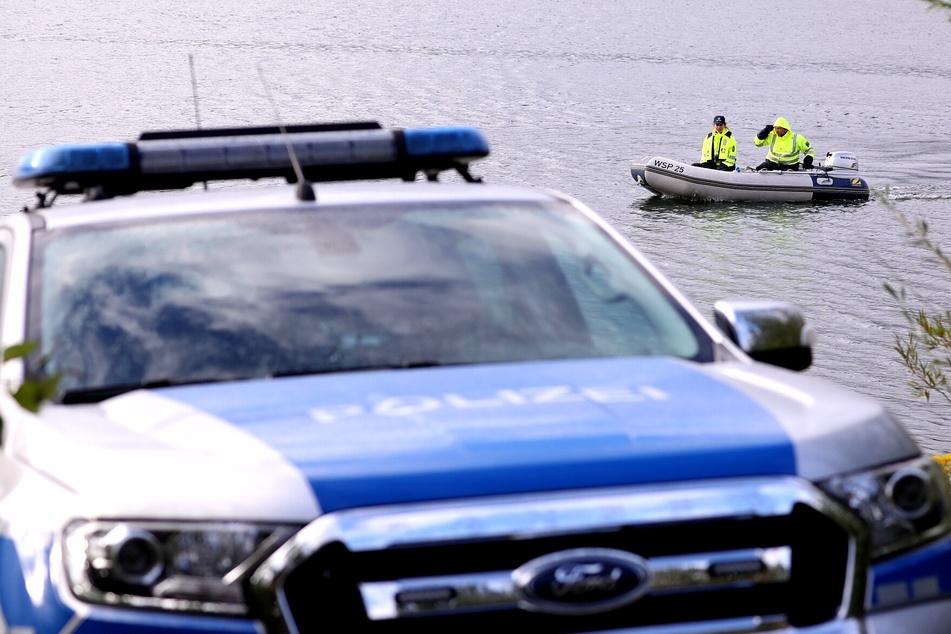 Stausee Oberwartha: Taucher suchen auch am Freitag nach vermisstem Schwimmer