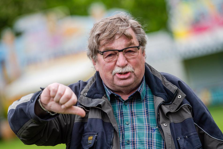 Schausteller Klaus Illgen (74) ist bestürzt über die mögliche Kät-Absage.