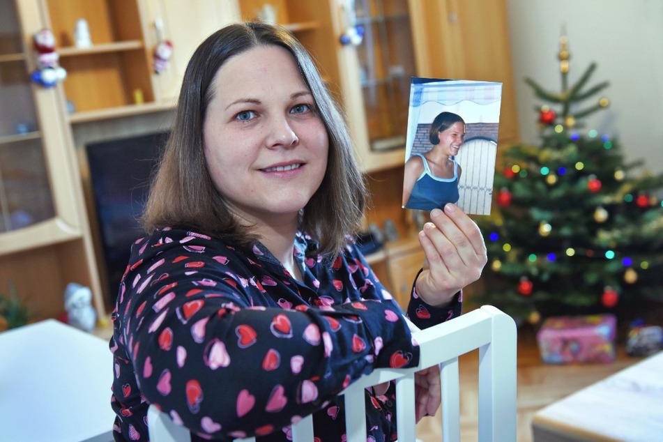 Nicole Heise (36) hat ihre Oma das letzte Mal gesehen, als sie 16 war. Im Foto sieht man, wie Nicole vor 20 Jahren aussah.