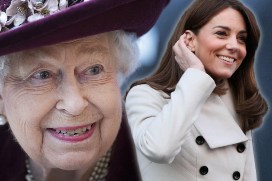 Das dürfte Meghan nicht gefallen: Wird Herzogin Kate etwa die künftige Königin?