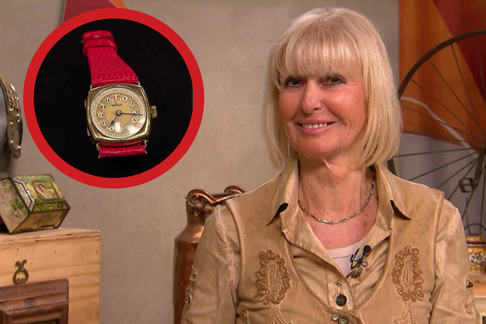 """Bares für Rares: Außergewöhnliche Rolex-Uhr bei """"Bares für Rares"""" sorgt für Entzücken"""