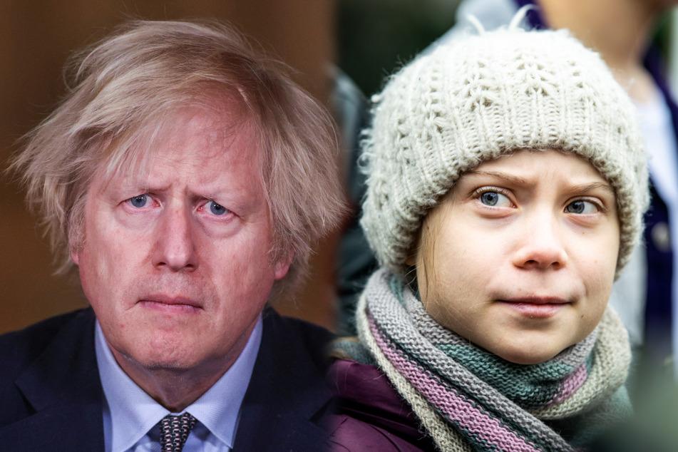 """Greta Thunberg: Greta Thunberg veräppelt Boris Johnson und wird zur """"Häschen-Umarmerin"""""""