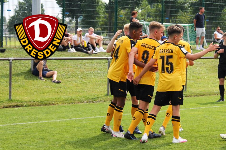 Stark: Dynamos U17 feiert im Ostkracher gegen Energie Cottbus Kantersieg!