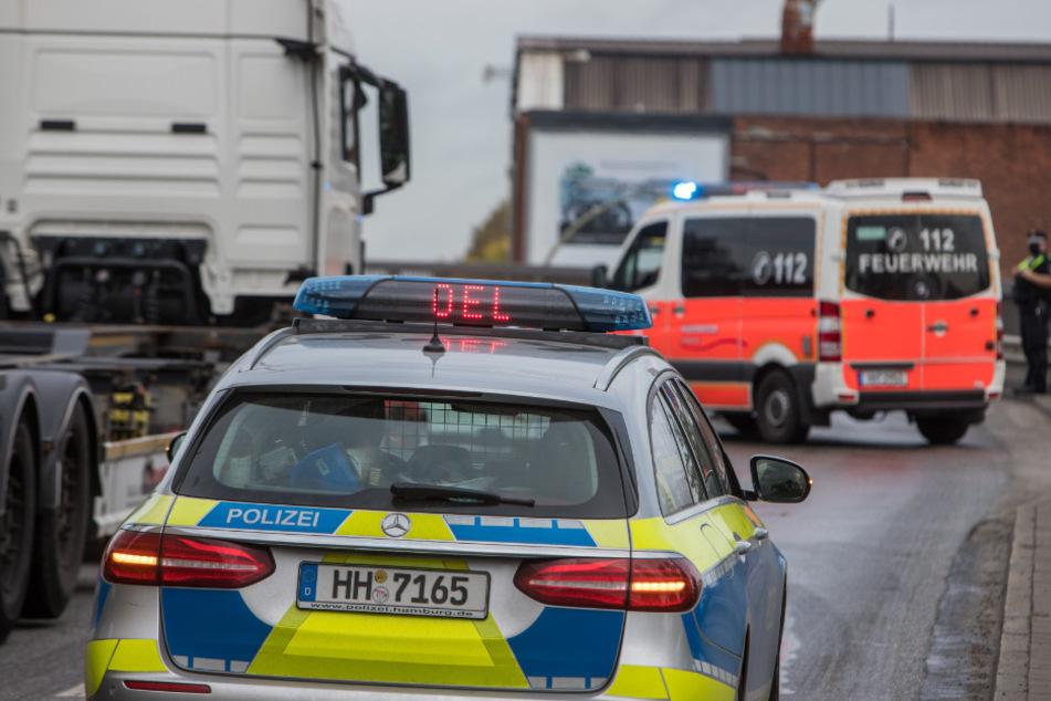 Speiseöl legt Verkehr auf Köhlbrandbrücke lahm!