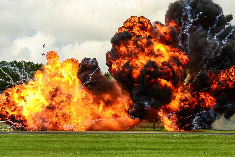 Bei mehreren Explosionen seien mehr als 60 Menschen verletzt worden. (Symbolbild)