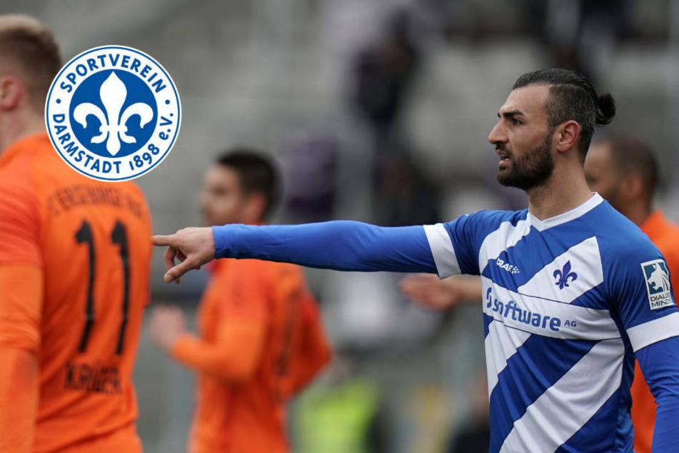 Dreierpack Serdar Dursun! SV Darmstadt 98 besiegt FC Erzgebirge Aue