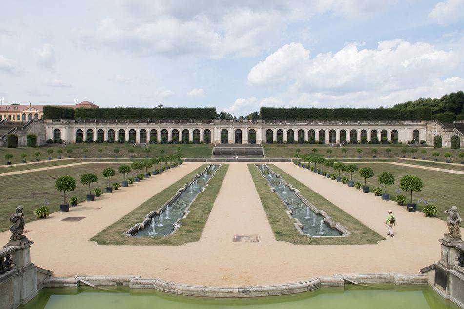 Kontraste: Der Barockgarten Großsedlitz würde Nachbar des IPO-Gewerbeparks. Auch das sehen viele Bürger kritisch.