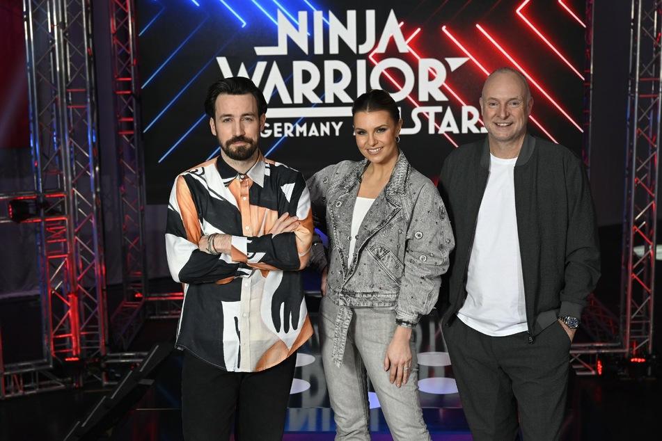 """""""Ninja Warrior""""-Moderator Jan Köppen (38, l) wird bald auch für """"Take Me Out"""" vor den RTL-Kameras stehen."""