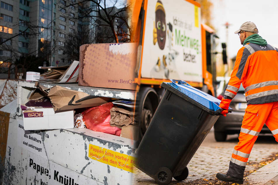 Dresden: 22 Prozent mehr! Papier-Müll macht Dresden in Corona-Zeiten zu schaffen