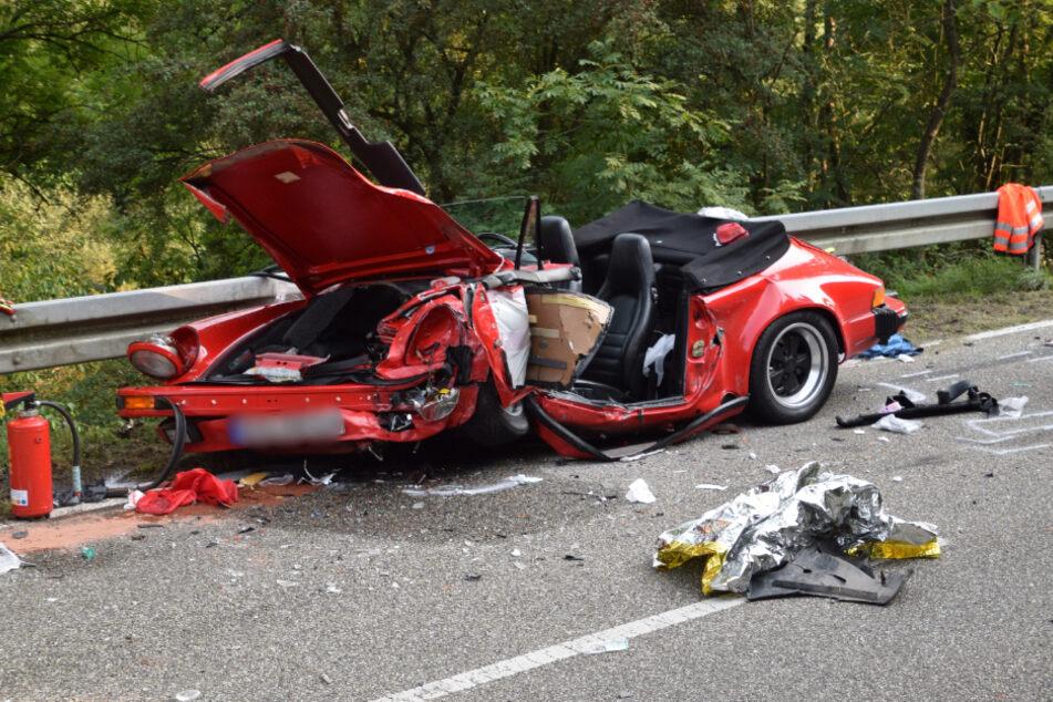 Porsche-Fahrer stirbt nach Frontalunfall
