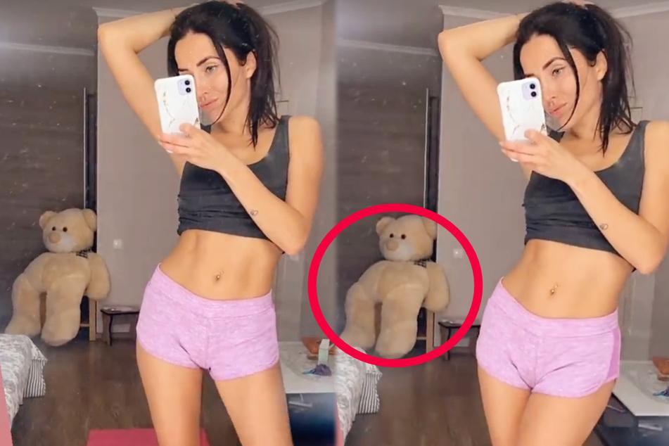 Model und Reality-Darstellerin Anastasiya Avilova (32) zeigte sich am Montagabend in einem knappen Sportdress auf Instagram.