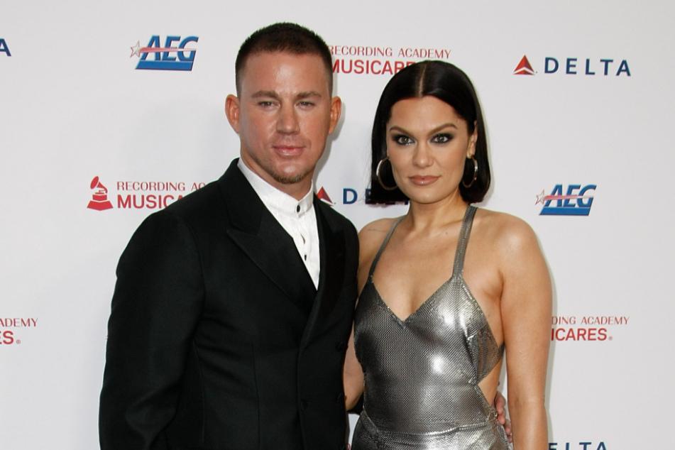 Jessie J (32) und Channing Tatum (40) auf einer Gala.