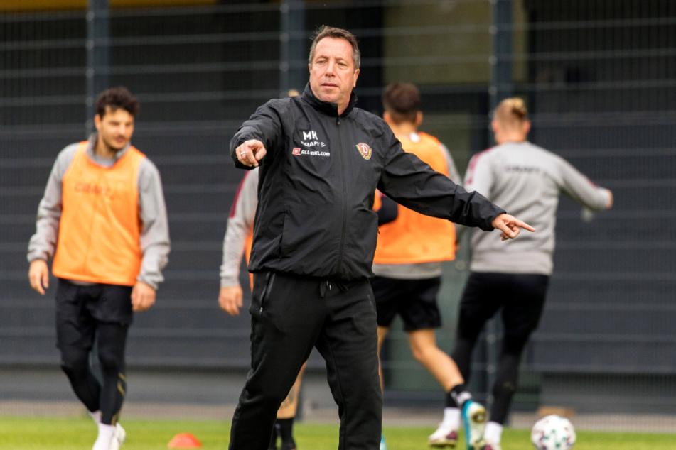 Dynamo-Trainer Markus Kauczinski bleibt in allen Lebenslagen Optimist.