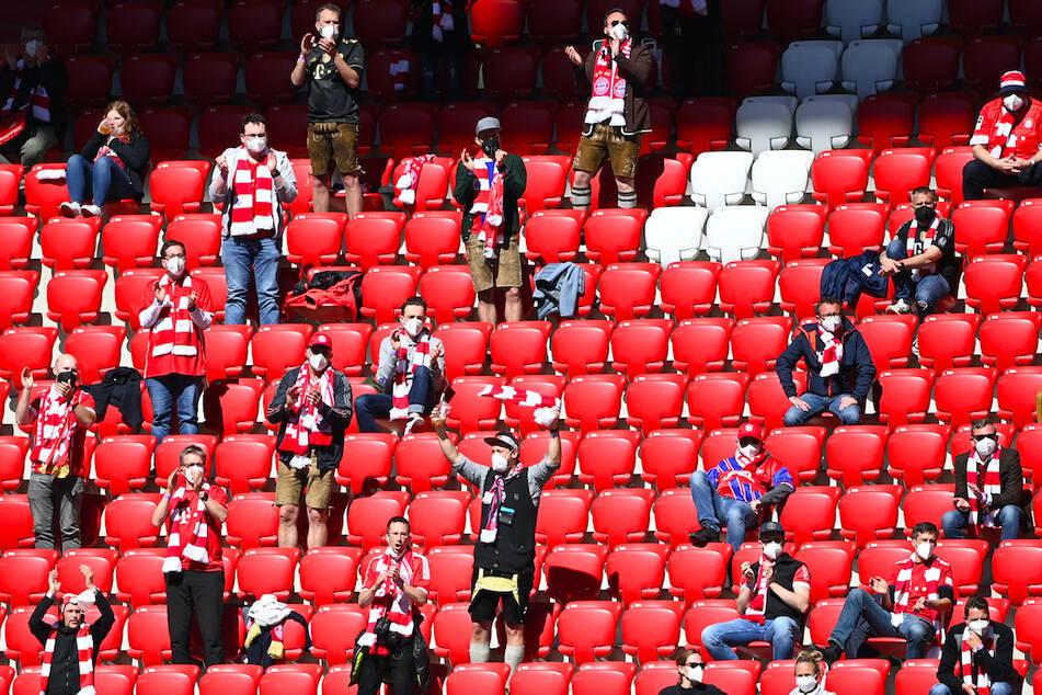 Das Münchner Stadion darf nun bis zu 50 Prozent ausgelastet werden.