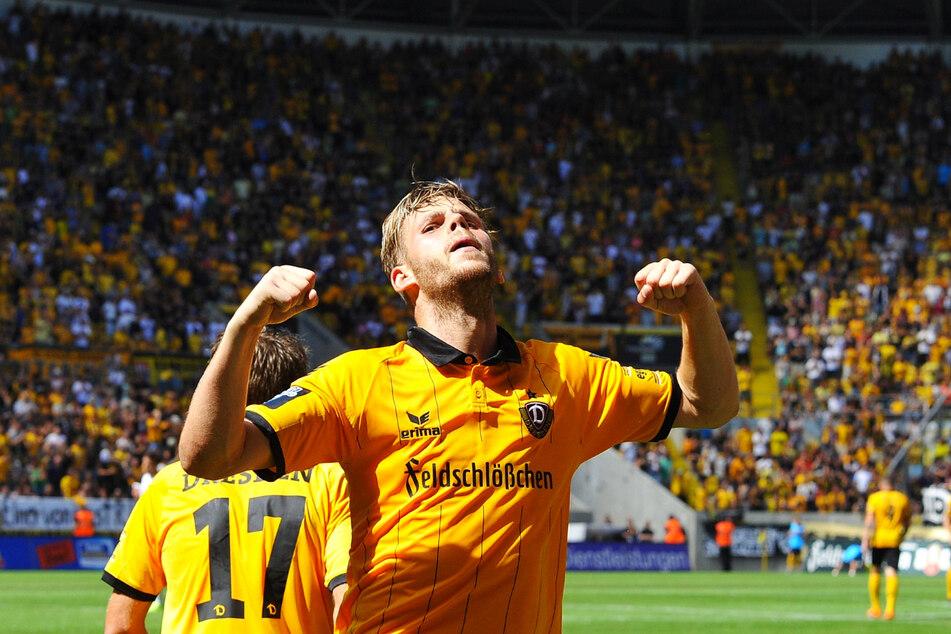 Für Dynamo Dresden erzielte Justin Eilers zwischen 2014 und 2016 46 Tore in 81 Einsätzen und gab zudem noch zehn Vorlagen.