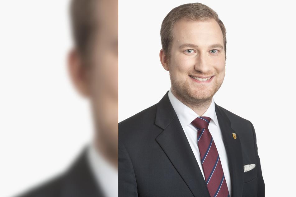 Michael Weickert (30, CDU) stellte den Prüfauftrag am Mittwoch in der Stadtratssitzung vor.