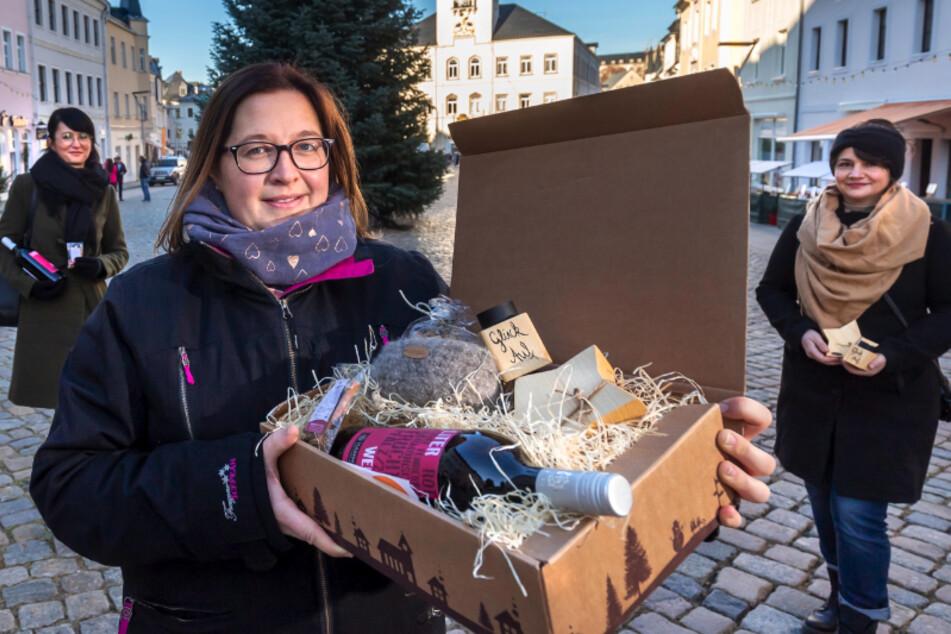 Schneeberger Händler haben 'ne Idee: Weihnachtsmarkt zum Mitnehmen