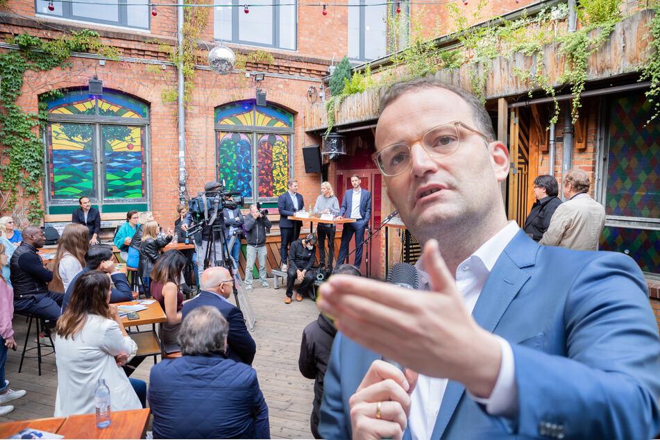 Berlin: Spahn stellt sich der von Corona gebeutelten Clubszene