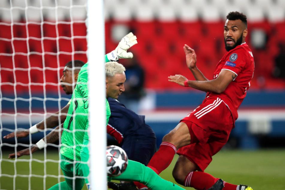 Eric Maxim Choupo-Moting (32, r.) erzielt den Treffer zum 1:0 für die Bayern. Am Ende reichte das Tor nicht für ein Weiterkommen in der Champions League.
