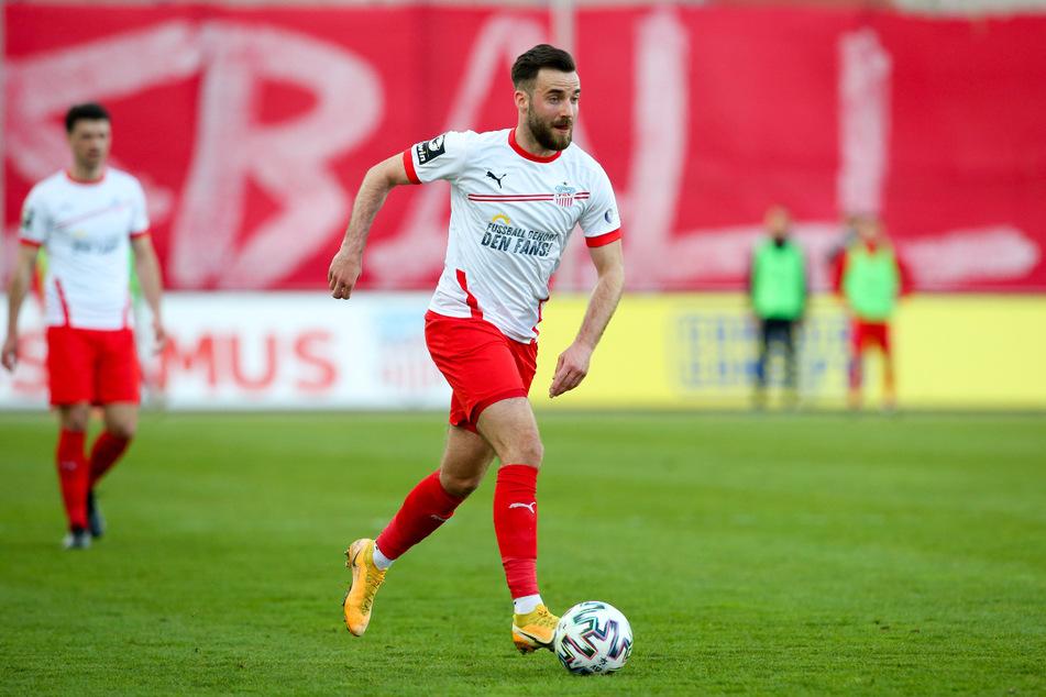 Morris Schröter (25) ist wieder fit und kann im Sachsenpokal gegen den CFC im wahrsten Sinne des Wortes angreifen.