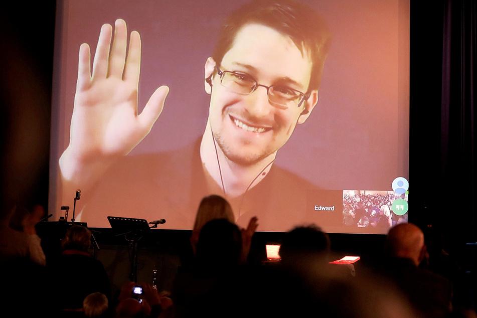 Trotz der Verfahren gegen ihn trat Edward Snowden in den letzten Jahren immer wieder auf Konferenzen auf, meist per Video-Schalte.