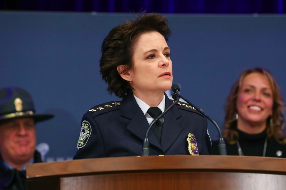 Erika Shields resigned from her post as Atlanta police chief after the shooting of Rayshard Brooks in June 2020.