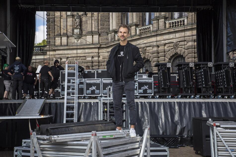Stefan Kästner (40) ist der künstlerische Leiter für das Fest-Programm.