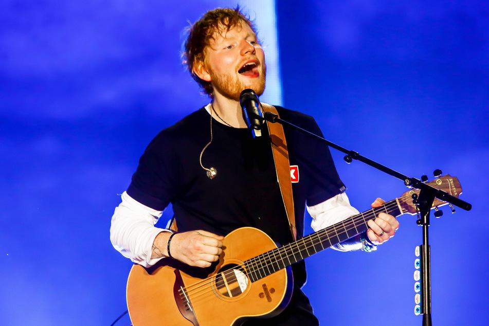 """Singer-Songwriter Ed Sheeran (30, """"Shape of You"""") wurde im August 2020 zum ersten Mal Vater."""