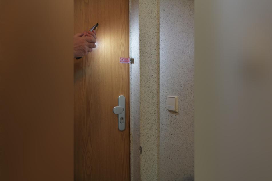 Hinter dieser Tür soll es zum tödlichen Streit gekommen sein.