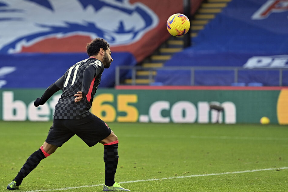 Stürmer-Star Mohamed Salah traf gegen Crystal Palace gleich doppelt.