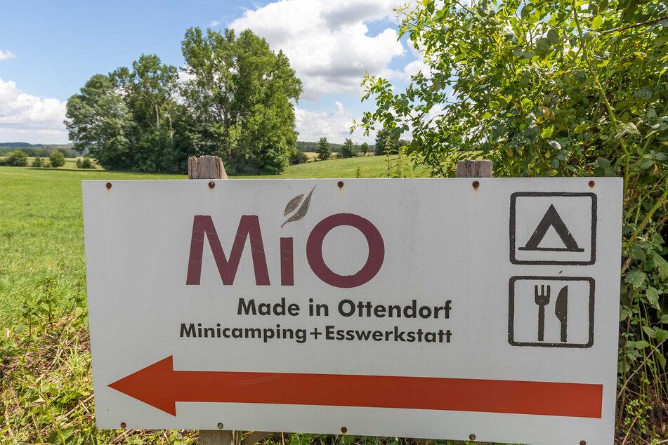 Naturidylle in Mittelsachsen: die MiO-Anlage im Lichtensteiner Ortsteil Ottendorf.