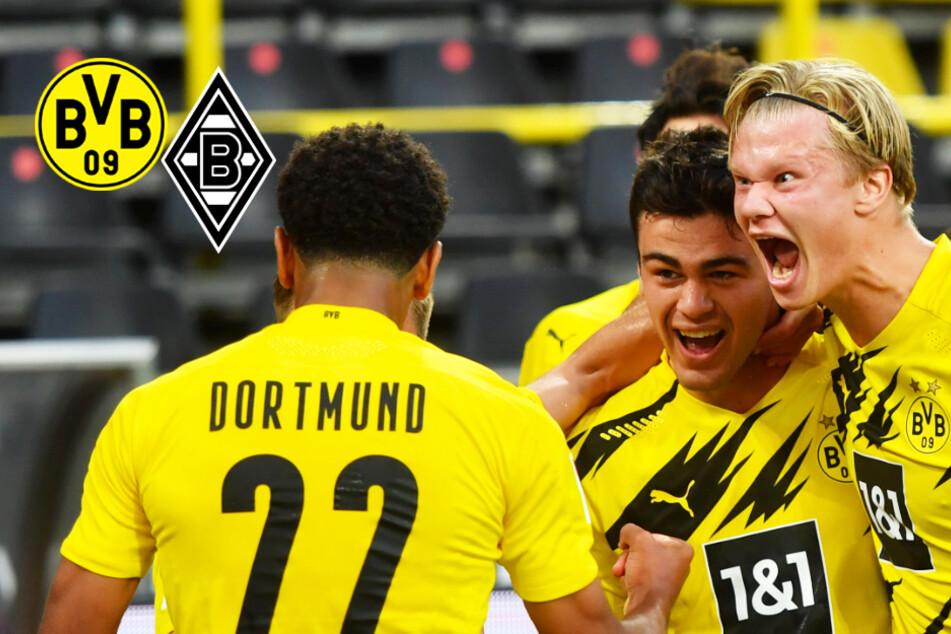 BVB-Youngsters Reyna und Haaland führen Dortmund gegen Gladbach zu Spitzenspiel-Sieg!