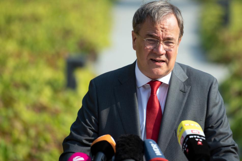 Armin Laschet kritisiert Nominierung des SPD-Kanzlerkandidaten als verfrüht