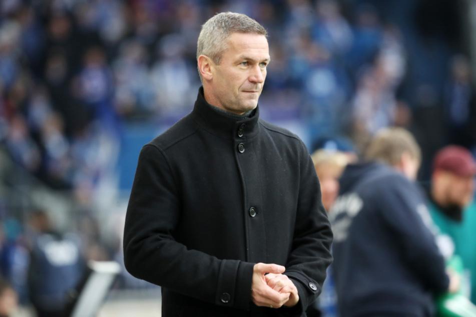 Mario Kallnik (46) ist nicht mehr Sportlicher Leiter beim 1. FC Magdeburg. (Archivbild)