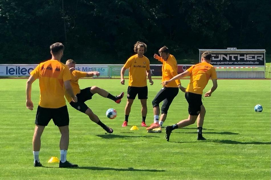 Tag 3 im Dynamo-Camp hat begonnen: Am Nachmittag steht ein weiteres Testspiel an.