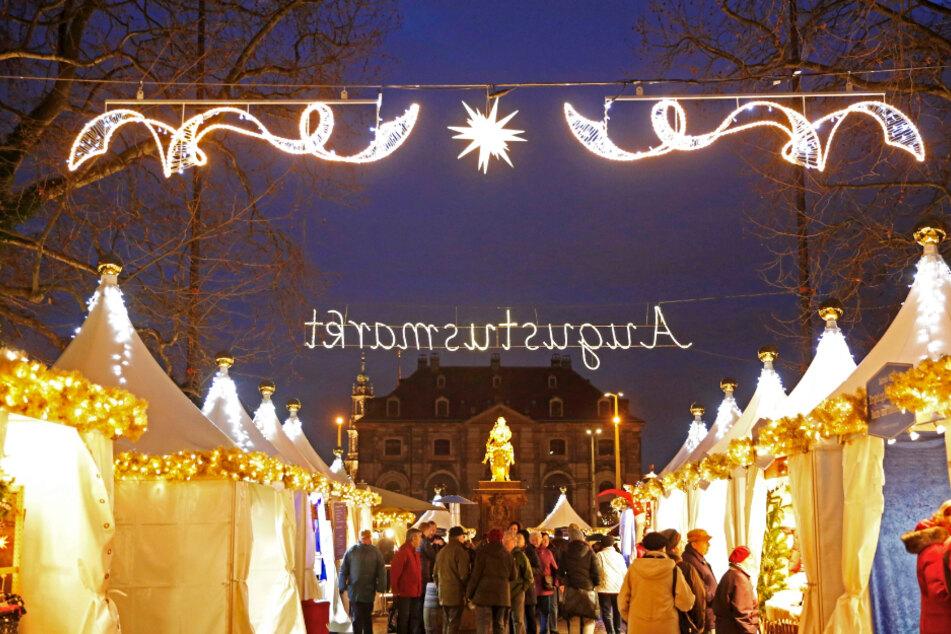 Ob der Augustusmarkt in diesem Jahr überhaupt stattfinden kann, ist weiter offen.