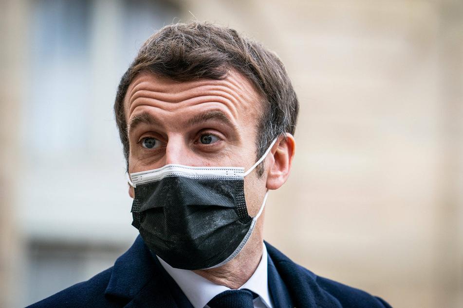 French President Macron tests positive for coronavirus