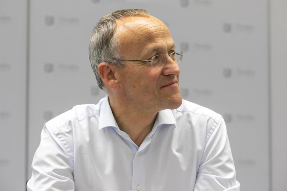 """""""Das ist unser Dresden-Wumms"""": Finanzbürgermeister Peter Lames (55, SPD)."""