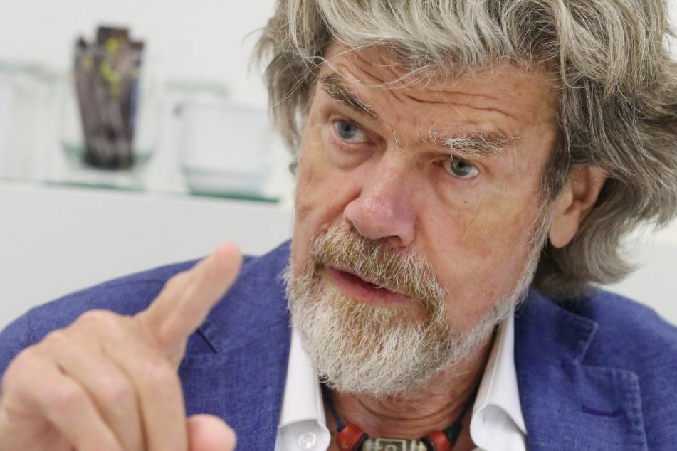 Reinhold Messner reicht mit 75 Jahren sein Erbe weiter.