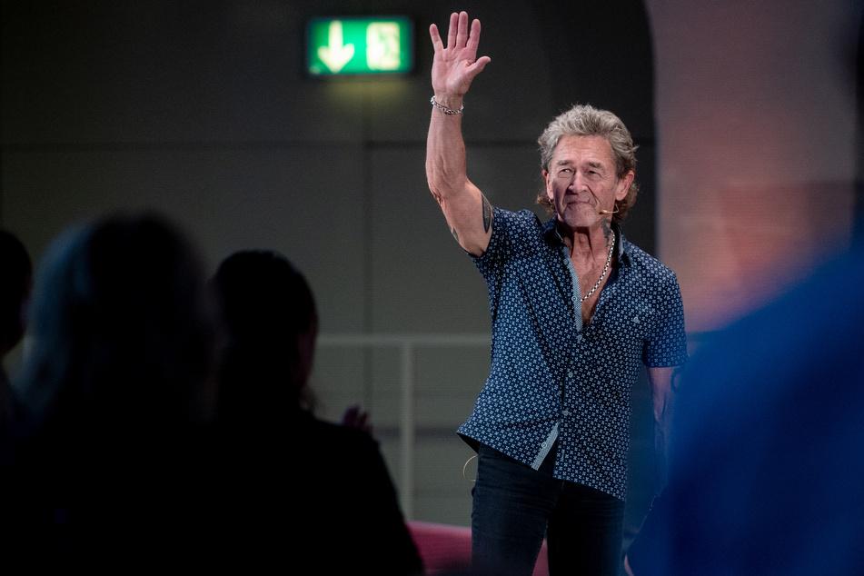 """Peter Maffay war am Dienstagabend zu Gast in der Reihe """"Persönlichkeiten im Gespräch""""."""