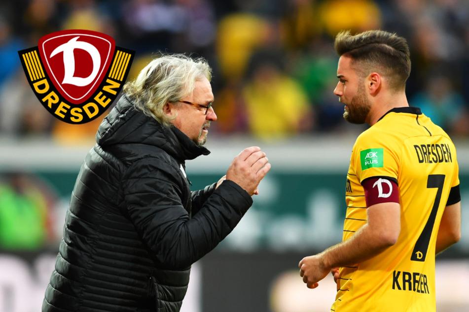 """Dynamo-Rückkehrer Kreuzer über sein schweres halbes Jahr: """"Du hoffst jeden Tag, aber es passiert nichts"""""""