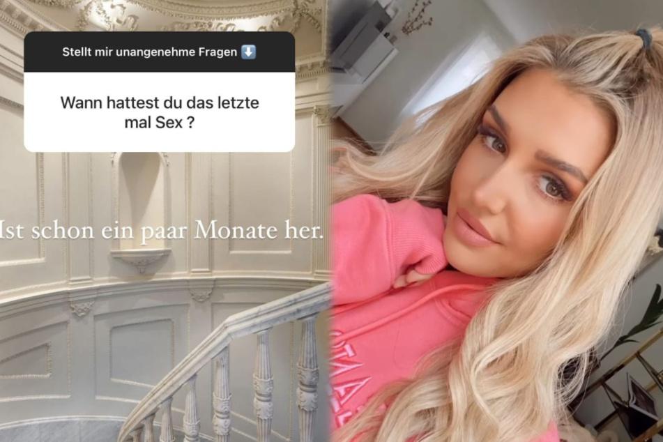 Gerda Lewis (27) hat in einem Q&A bei Instagram unangenehme Fragen ihrer Follower beantwortet. (Fotomontage)