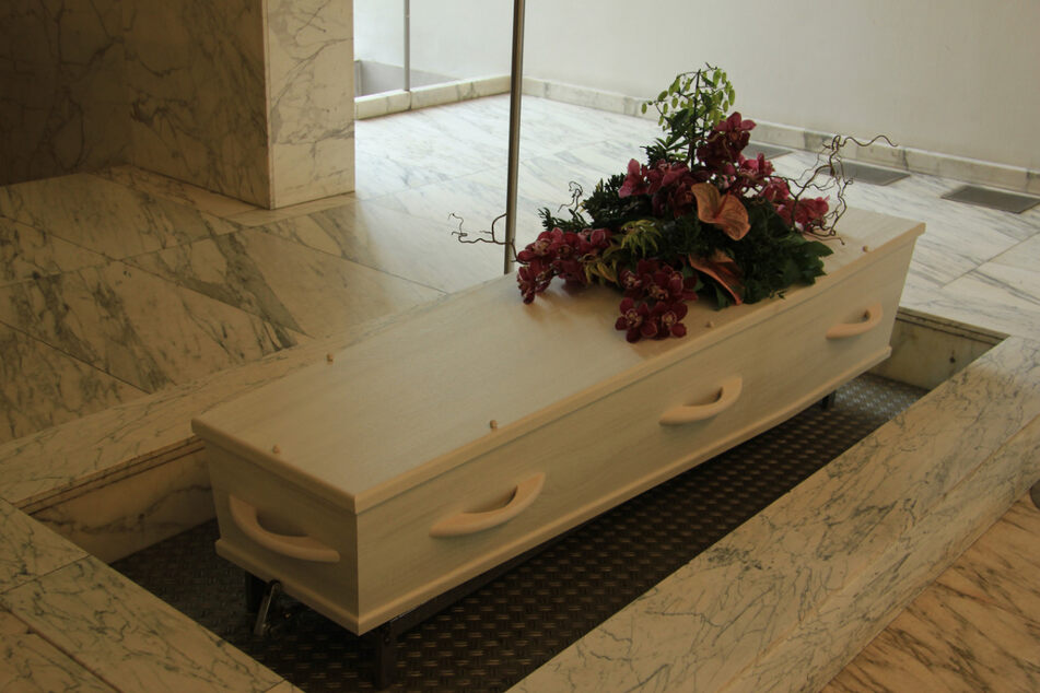 The supposedly dead senior citizen was rescued shortly before cremation (stock image).